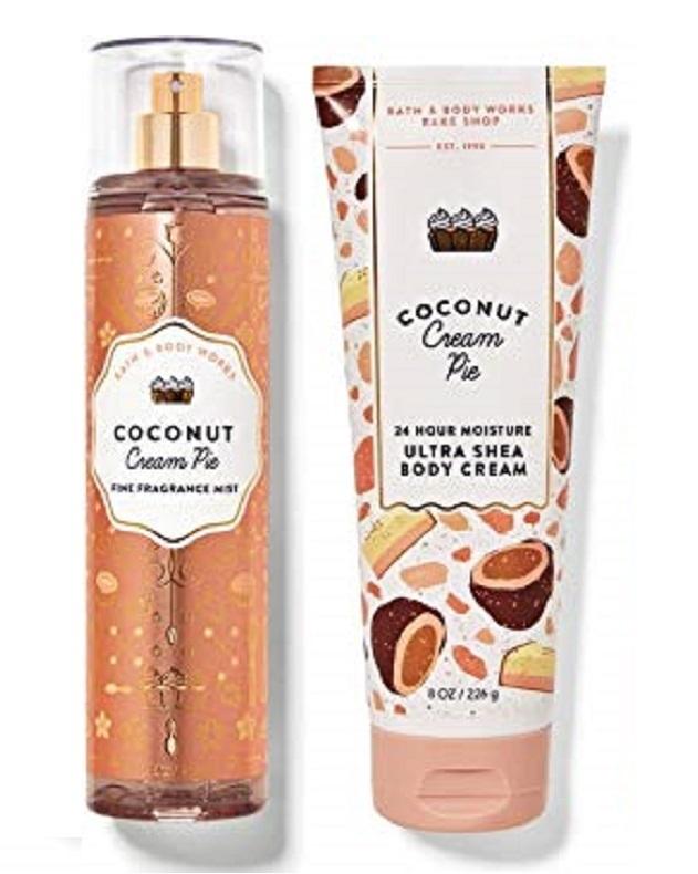 Bath & Body Works Coconut Cream Pie 2 Piece Set - Body Cream & Mist - $29.99
