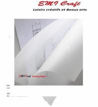 EMI Craft - Rouleau de papier calque - Blanc 40/45gsm 0,33 x 20 m...  - $26.07