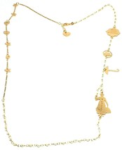 Collier Long 75 cm, Argent 925, Mary, Chapeau, Parapluie, Sac, le Favole - $180.29
