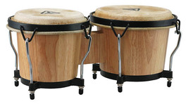 "Tycoon Bongo Drums/Ritmo Series/natural Finsh 6"" and 7"" Shells - $64.99"