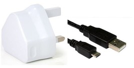 Wall Charger & Usb Data Sync Cable For Lenovo Idea Tab A2107 A A2107F Tablet - $9.59