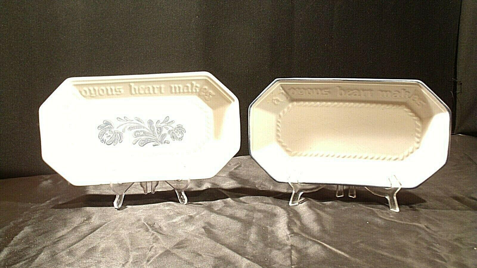 Pfaltzgraff Bread Serving Plate USA (Pair)  AA20-2131b Vintage