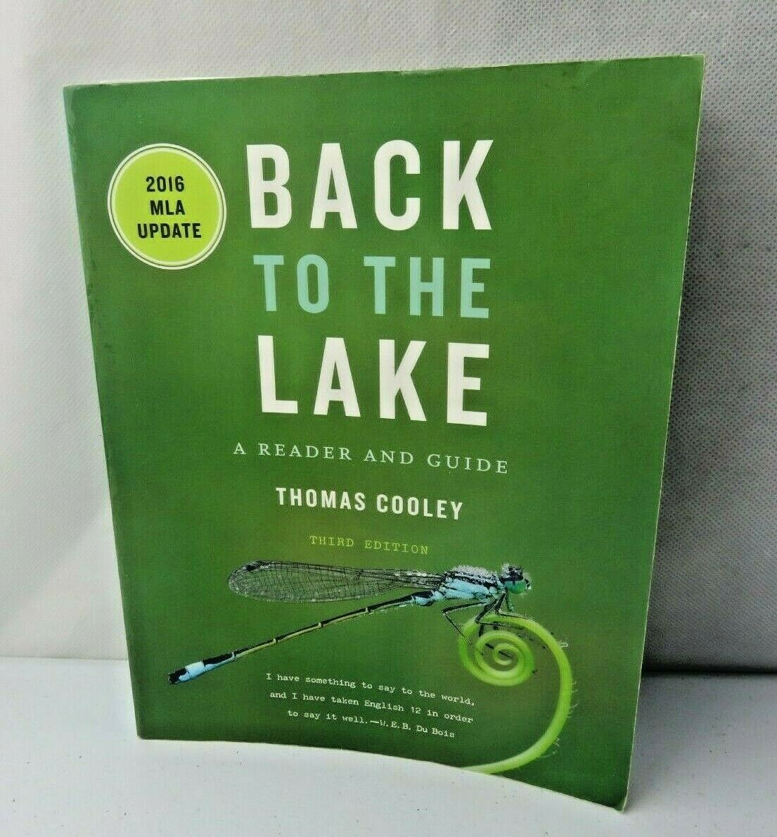 Primary image for Back to the Lake: A Reader and Guide, with 2016 MLA Update 3rd Edition 2016