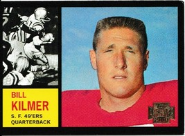 2001 Topps Archives Bill Kilmer Football Trading Card #8 San Francisco 4... - $1.97