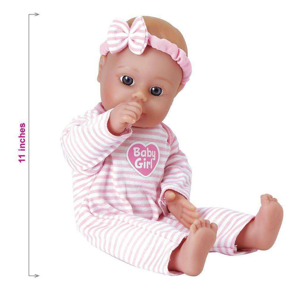 Juguetes para niñas muñecas Para niños 18 meses 11-inch lavable Cuerpo suave