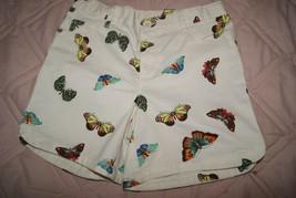 Gap Kids Girls 5Pocket Midi Shorts  Size 16 Slim - Butterfly Adj Waist - New - $14.25