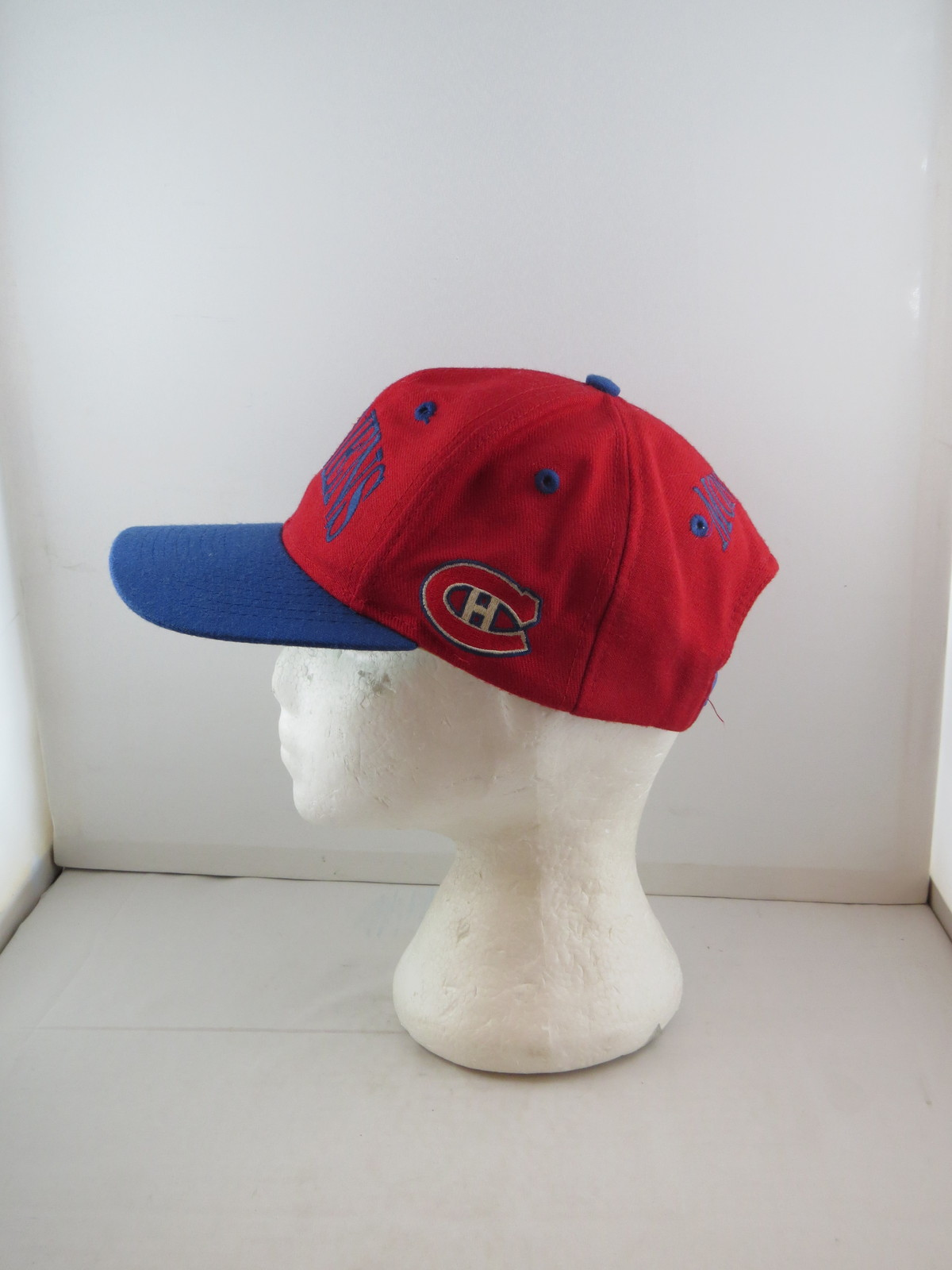 b8773ac9c1554c ... where to buy montreal canadiens hat vtg wool arch script by the game  adult snapback eafca