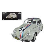 """1963 Volkswagen Beetle """"The Love Bug"""" Herbie #53 Elite Edition 1/18 Diec... - $186.09"""