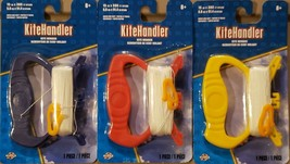 Lot of 3 Kite Handler Kite String Winder 15LB x 300 ft Nylon - $11.87