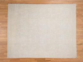 8'x10' White Wash Peshawar Pure Wool Hand Knotted Oriental Rug G39336 - $2,328.48
