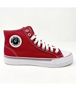 PF Flyers Center Hi Reiss FRC Red White Mens Casual Shoes MC1001RD - $54.95