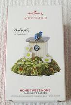 Hallmark Nature's Sketchbook Marjolein's Garden Home Tweet Home 2019 Orn... - $22.72