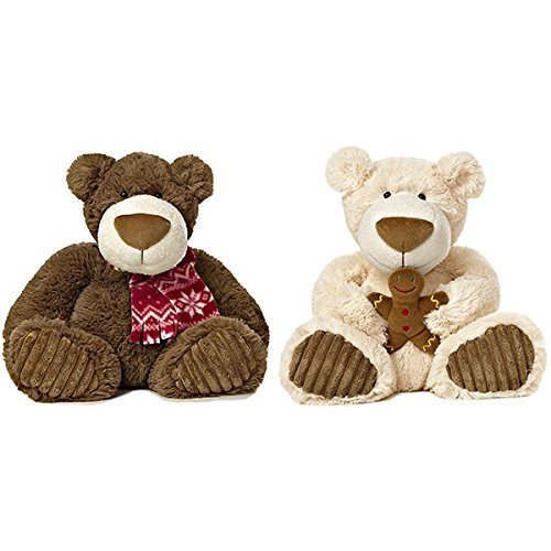 "Gingerbread Latte 12"" Bear Plush From Aurora World"