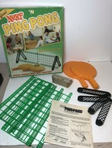 Vtg Nerf Ping Pong Table Tennis Game Parker Brothers 1982 Portable #0273 - $24.74