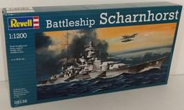 Revell 1/1200 Battleship Scharnhorst Plastic Model Kit - $12.00