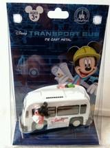 Disney Parks Transport Bus Die Cast Metal NEW - $13.09