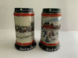 Budweiser Steins American Tradition Susan Sampson 1990 1991 Collectors Series - $18.46