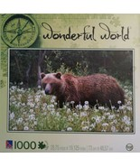 "SURE-LOX Puzzles 1000 pc - WONDERFUL WORLD ""Alaskan Grizzly Bear"" / NEW,... - $24.49"