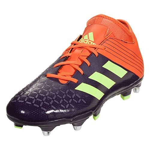 adidas Malice Elite SG Rugby Boots, Purple, US 9