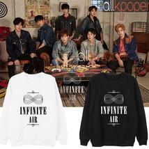 Kpop Infinite Air Sweater SeongJong Sweatershirt Kim Myung Soo Seongr Pu... - $13.94