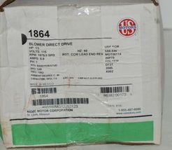 US Motors 1864 Direct Drive Blower K055WMG1245012B Boxed image 10