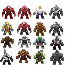16pcs/set Marvel Minifigures Kingpin Carnage Venom Lizard Toxin Juggernaut Block - $64.90