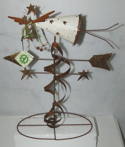 Care Wonder 13286 Angel Weather Vane 21 Inches Rusty Nail Collection