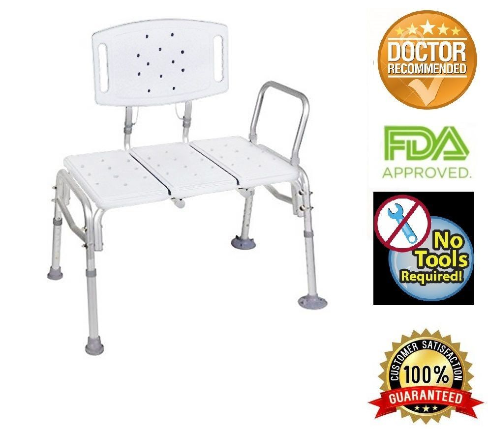 Transfer Bench Adjustable Seat Height,heavy and 50 similar items