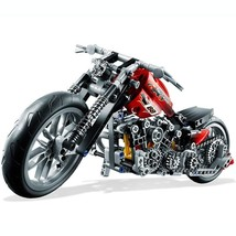 Technic 378-Part Motorcycle Build Game Toy Set And Home Office Decor Bui... - $24.74
