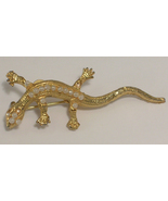 Lizard, Salamander or Gecko Gold Colored Metal ... - $10.00