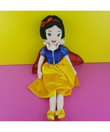 "The Disney Store 21"" Princess Snow White Plush Doll Stuffed  - $20.79"
