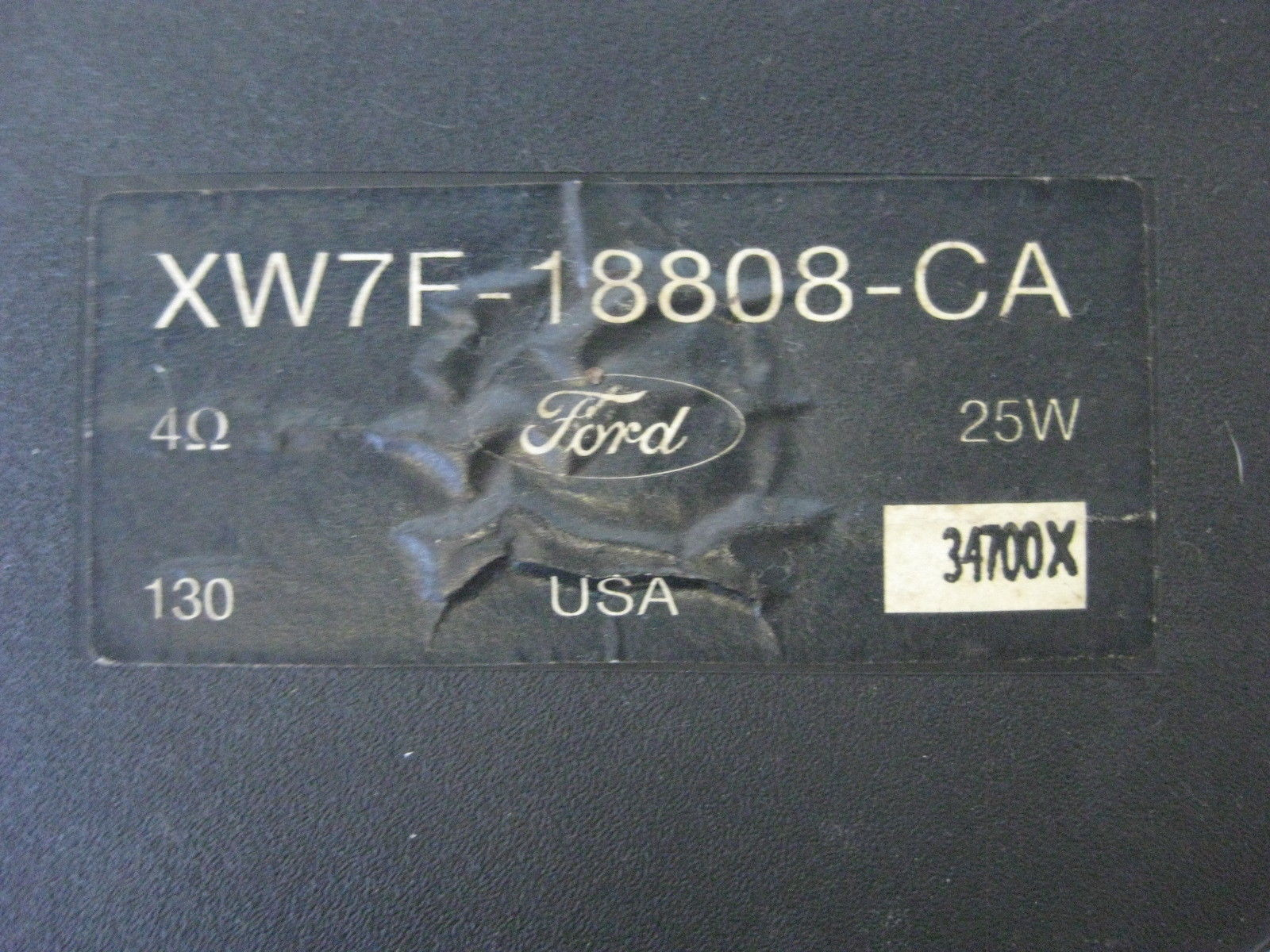 2001 Ford Explorer Sport Speaker Front w/ Twitter OEM XW7F18808CA