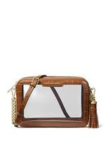 Michael Kors Medium Clear Camera Crossbody Bag - $79.99