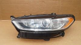 13-16 Ford Fusion Halogen Headlight Head Light Lamp Driver Left Side LH image 1