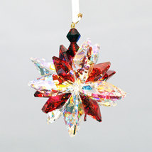 Aurora Borealis Crystal Snowflake Ornament image 3