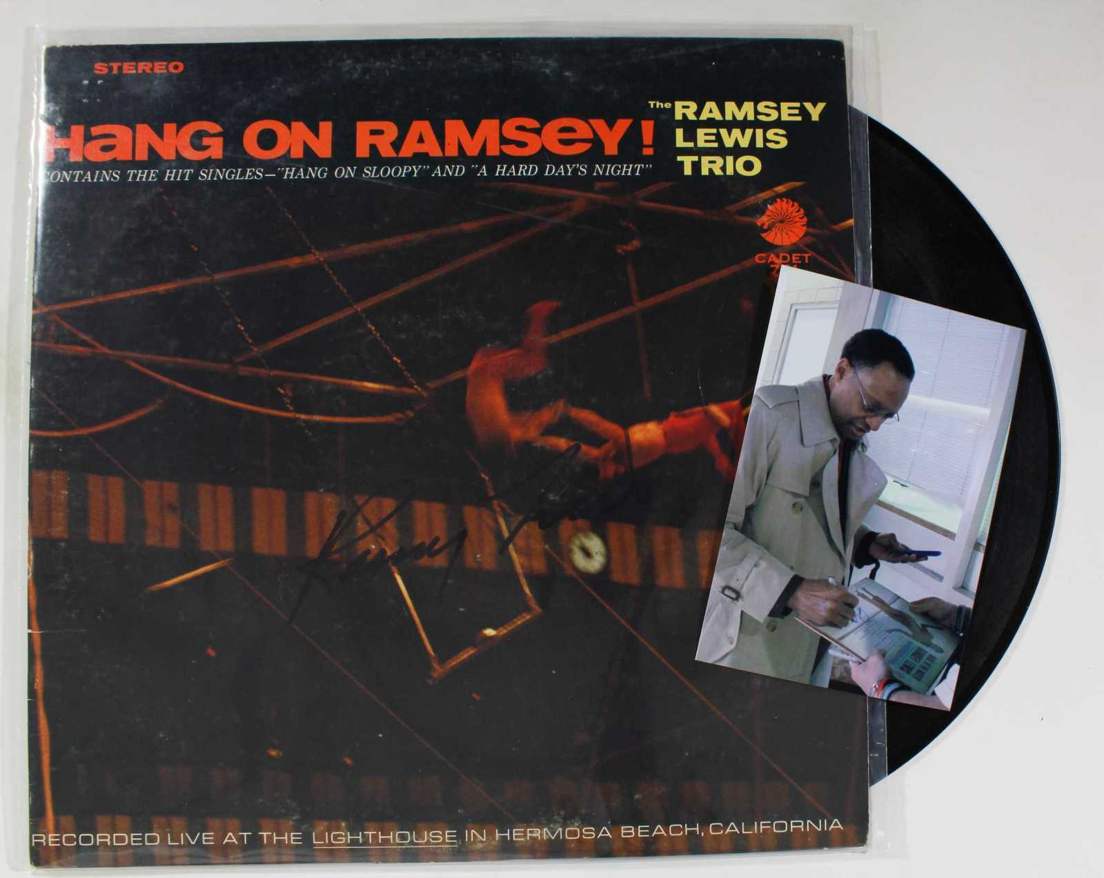 Primary image for Ramsey Lewis Signed Autographed Record Album w/ Proof Photo