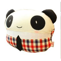 Fashion Design Car Neck pillow/Cartoon Neck Pillow ,(Miss Panda)