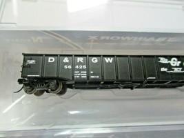 Trainworx Stock # 25201-27 to -30 Rio Grande  Black Paint Scheme 52' Gondola (N) image 2