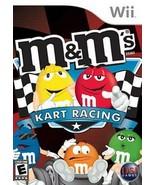 M&M's Kart Racing NINTENDO Wii Video Game - $6.97