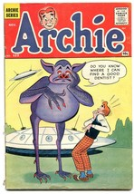Archie #123 1961-sci-fi-alien & spaceship-Betty-Veronica- vg- - $42.87
