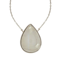 Rainbow Moonstone 925 Sterling Silver Women Wedding Anniversary Gift Nec... - $44.94