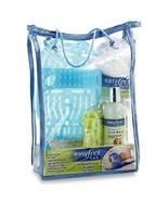 Easy Feet Spa, Peppermint Foot Wash, Lotion, Socks, Pedicure Kit Set Blu... - $19.99