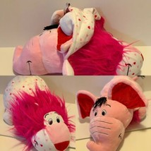 Flip a Zoo Pink Ever Elephant / Lovey Lion I Love You Plush Doll Jay Pla... - $19.10