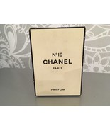 RAREST CHANEL NO 19 PURE PARFUM 56ml VINTAGE NEW&SEALED - $499.00