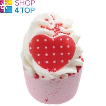 Miss Fancypants Bath Mallow Bomb Cosmetics Strawberries Cream Handmade Natural - $4.98