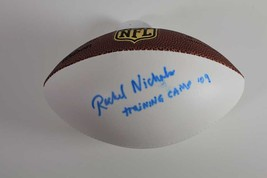 Rachel Nichols Signed Wilson NFL Mini Football ESPN 2009 Training Camp I... - $74.44