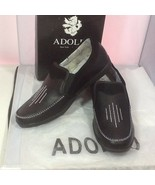 Adolfo Men's Casual Slip On Shoes Black Style S/Adam-1 Size 10.5 - $19.75