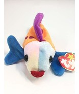 1 X Ty Beanie Babies - Lips the Fish by Beanie Babies - $5.30