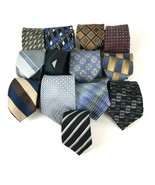 Vtg To Modern Men's Ties Mod Geo 13 Pc Lot for Crafts  Wear  - $19.79