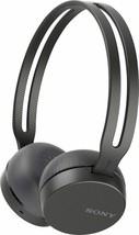 Sony WH-CH400 Wireless Bluetooth Headband Headphones w/Microphone - BLACK - $16.78
